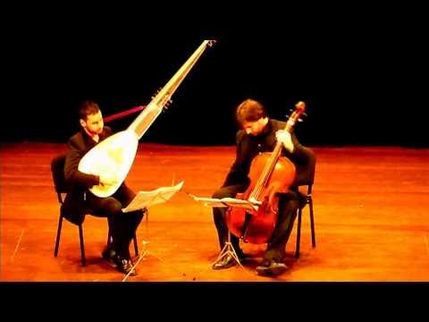 Barriere: Josetxu Obregon, cello - Daniel Zapico, theorbo La Ritirata