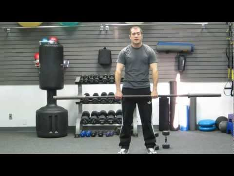 How To Upright Row | Dumbbell or Barbell | Back Exercise at Home or Gym by HASfit 120111