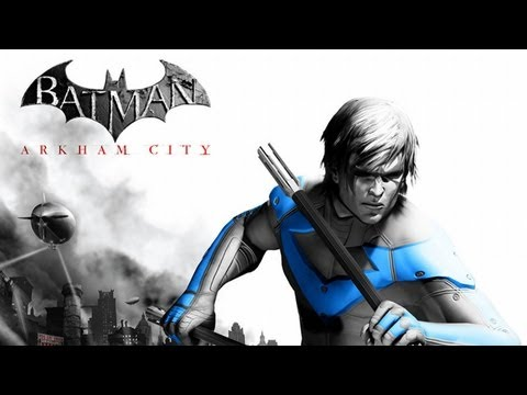 Batman Arkham City - Nightwing Gameplay DLC & Impressions (EVERY NIGHTWING SUIT!!)