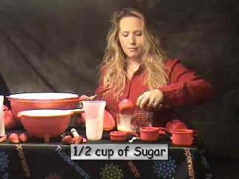 Tupperware Quick Chef- Making Ice Cream-Magical