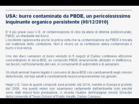 USA: burro contaminato da PBDE, un pericolosissimo inquinante organico persistente