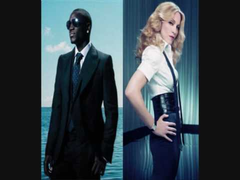 Madonna Ft. Akon - Celebration (Remix)With Lyrics