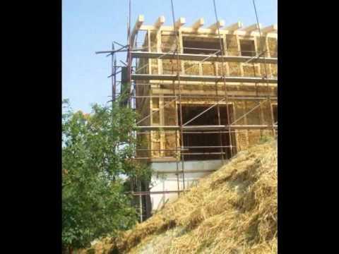 Casa di paglia - Costruire case con balle di paglia - Casa passiva - Case di paglia