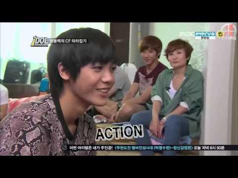 {SINAQ} 120831 MBLAQ Idol Manager Ep 3 (2/3)