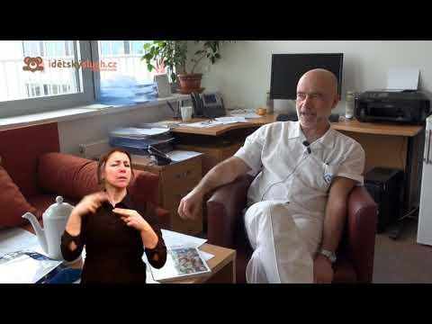 Rozhovor s MUDr. Skřivanem s tlumočením do znakového jazyka