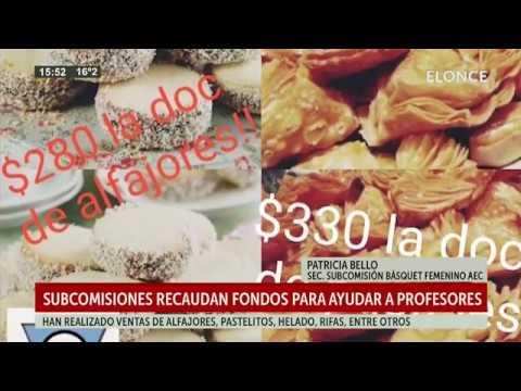 Básquet femenino del Atlético Echagüe Club recauda fondos y ayuda a profesores