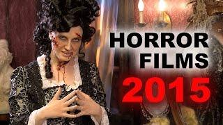 Top 5 Horror Movies 2015 : Crimson Peak, Frankenstein, Lazarus - Beyond The Trailer