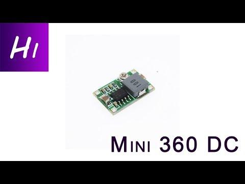 Обзор Mini 360 DC   понижающий преобразователь напряжения - UCY6A_tZAikULMr46WlfntRw