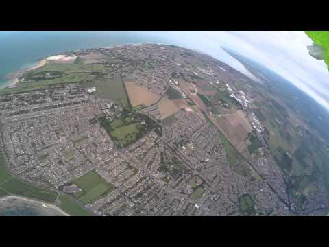 GoPro sent into sky with helium balloons