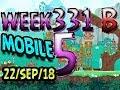 Angry Birds Friends Tournament Level 5 Week 331-B  MOBILE Highscore POWER-UP walkthrough