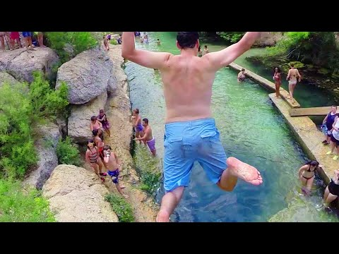 Jacob's Well Swimming Hole - Drone Footage - Wimberly TX - UCyiMb4vFJtWUDV-4ZW9kV0A