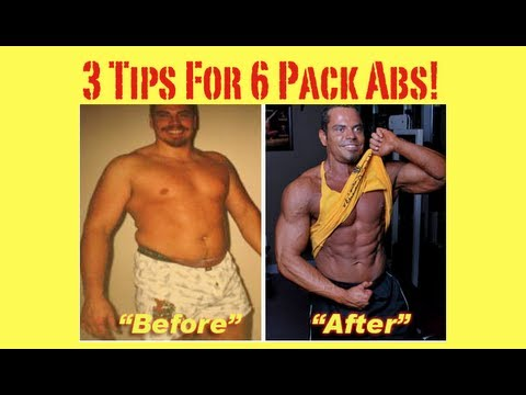 3 FAT LOSS Tips To Reveal Your 6-PACK Abs!