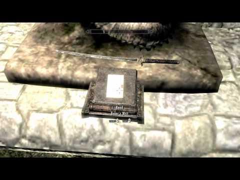 Elder Scrolls V: Skyrim: Rare Weapons - Bolars Oathblade | Episode 2