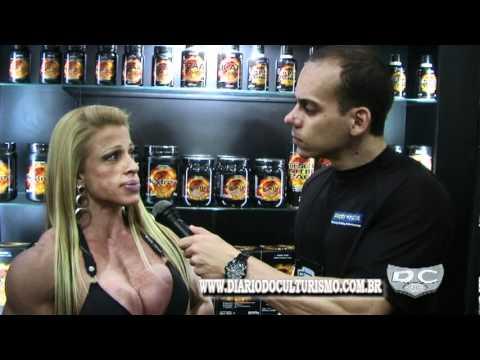 Entrevista Anne Freitas na Expo Nutrition SP 2012.