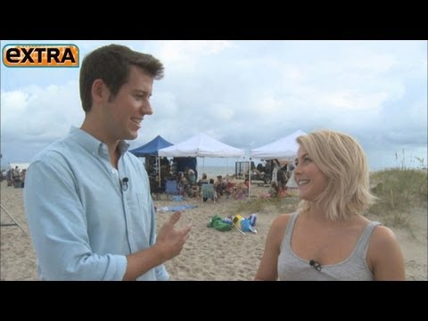 Julianne Hough: Ryan Seacrest Cries at Kleenex Commercials