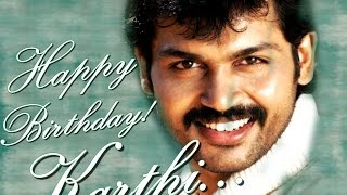 Watch Actor Karthi Turns 38 Today - Happy Birthday Karthi Red Pix tv Kollywood News 25/May/2015 online