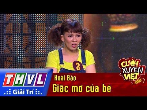 THVL | Cười xuyên Việt 2016 – Tập 2: Giấc mơ của bé – Hoài Bảo