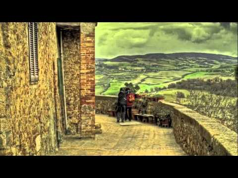 The Val d'Orcia Tuscany Italy Unesco World Heritage Site