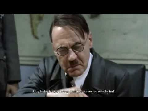 Hitler se entera que Lanata descubro el lavado de dinero..