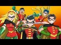 The Animated History of Every Robin [DC Comics]