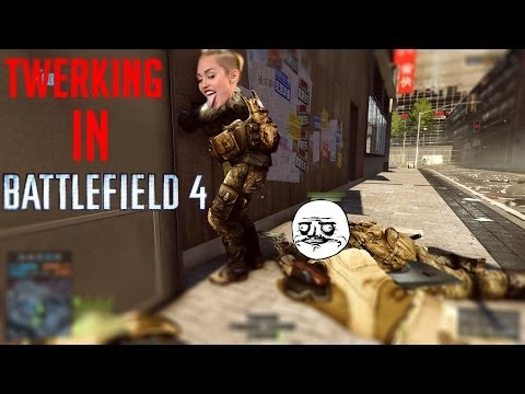 Twerking in Battlefield 4