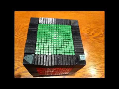 17x17x17 Rubik's Cube (world record) by Oskar and Claus
