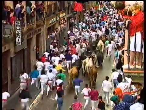 Encierro San Fermín   13 de julio de 1992 480p