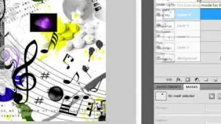 Tutorial Adobe Photoshop CS4 • EM PORTUGUÊS • Fazendo um plano de fundo