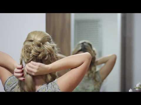 Tutorial de penteado - coque moderno para festas