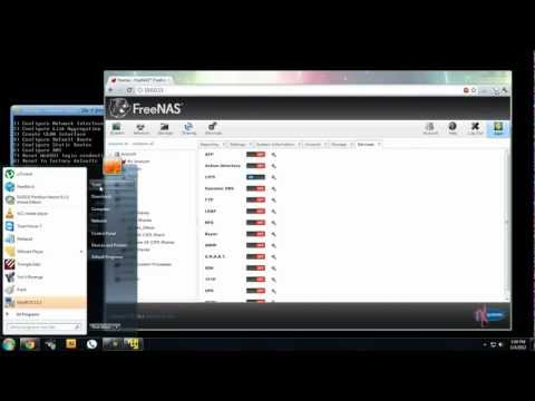 (Free Unlimited Dropbox Storage) FreeNas8 for Windows Network Folder + FreeNas Install Guide