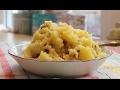 Лучшие гарниры. Картофельное пюре со шкварками. Mashed potatoes with bacon