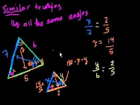 Triangoli Simili