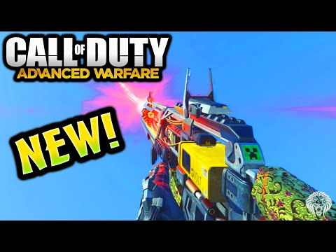 COD Advanced Warfare: AE4 GAMEPLAY ROYALTY! New DLC Weapon Laser Assault Rifle(Call of Duty AW) - unknownplayer03