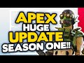 Apex Legends 6 HUGE Season 1 UPDATES | New Legend, Battle Pass & MORE!
