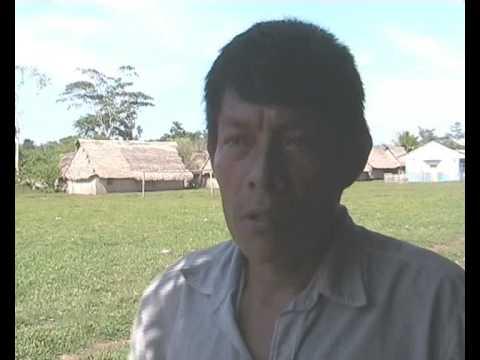 Entrevista a Darwin Cavaza, Comunidad Leoncio Prado de Barranquita.
