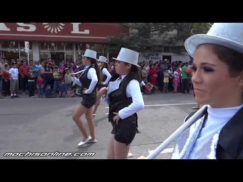 Desfile civico del 20 de Noviembre en Los Mochis Sinaloa