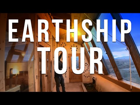 Earthship Tour - Available for Rental!