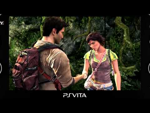 [GamesCom] Uncharted Golden Abyss - Trailer - PS Vita [HD]