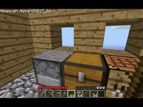 Minecraft Tutorials - 06 - How to Survive & Thrive (Doors, Ladders & Stairs)