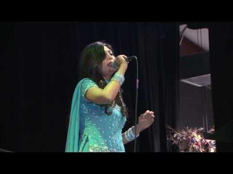Dr. Adeeba Akhtar - live - mera dil ye pukare (Lata Mangeshkar)
