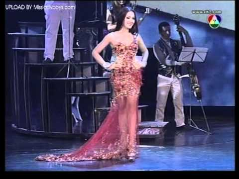 Miss Tiffany Universe 2012 Part5    Evening Grown