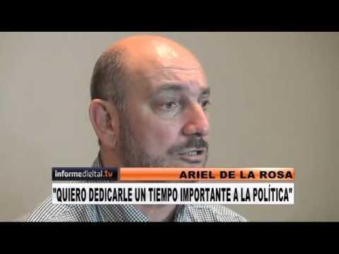 <b>Renunci� al Iosper:</b> De la Rosa ser� precandidato a intendente de Paran�