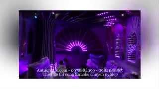 Thiết kế thi công karaoke Hoa Viên Phổ Quang