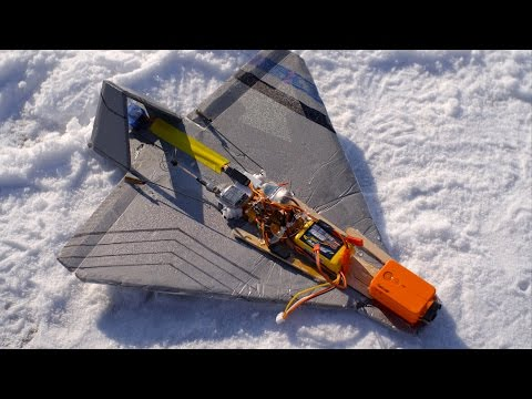 RCTESTFLIGHT - FPV Shuttle Glider Dropped from Drone - default