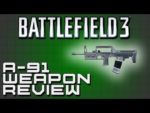 Battlefield 3 Weapon Review: A-91