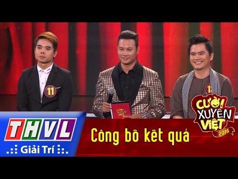 THVL | Cười xuyên Việt 2016 – Tập 3: Công bố kết quả
