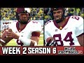 NCAA Football 14 Dynasty: Week 2 @ #17 Cal - Andrew Johnson's 1st Start (Season 6)