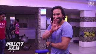 Bullett Raja Behind-the-scenes: Saif Works Out for his Role