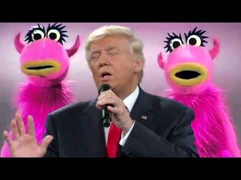 Donald Trump sings Mahna Mahna funny song
