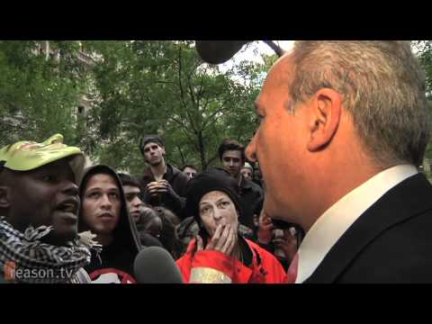Peter Schiff at OWS: Walmart Doesn-t Hold a Gun to Your Head!